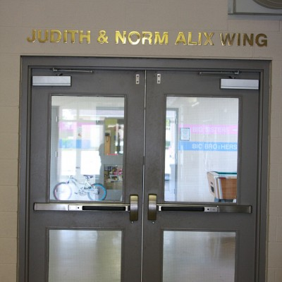 The Judith and Norm Alix Wing - Down Centre for Youth