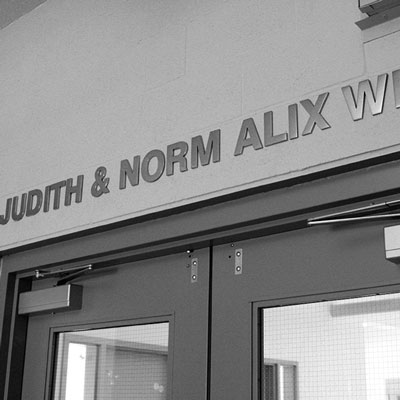 Judith and Norm Alix Wing