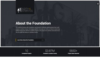 Judith and Norman Alix Foundation Website